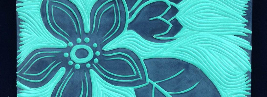 Orange Blossom commission, detail
